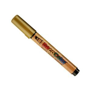 DecoColor Gold Chisel Point Acrylic Wood Paint Marker 320 S/GLD