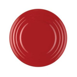 Rachael Ray Double Ridge 4 Piece Salad Plate Set in Red 58248