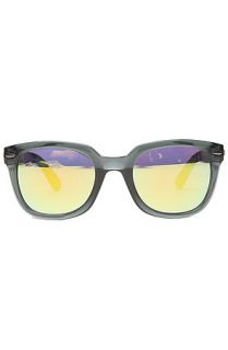 Le Specs Sunglasses Miso Cool in Gunmetal SIlver