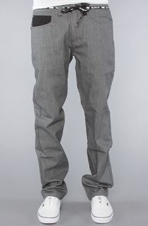 DGK The All Day 2 Slim Fit Jeans in Grey Raw Wash