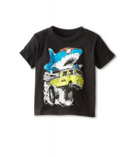 Quiksilver Kids Shark Attack Tee Boys T Shirt (Black)