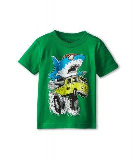 Quiksilver Kids Shark Attack Tee Boys T Shirt (Green)