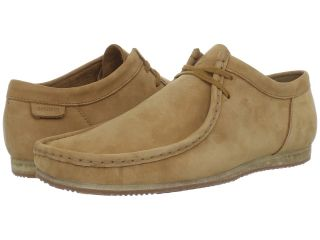Clarks Wallabee Run Mens Lace up casual Shoes (Tan)