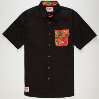 Permanent Vacation Mens Shirt Black In Sizes Xx Large, X Large, Small, Larg