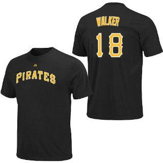 Neil Walker Pittsburgh Pirates Adult Name & Number T Shirt Jersey Lg  Sports Fan Apparel  Sports & Outdoors