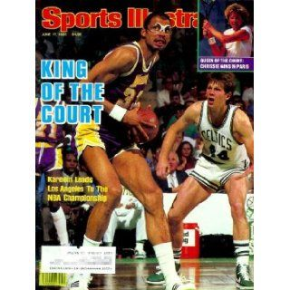 Sports Illustrated   June 17, 1985 Issue: Kareem Abdul Jabbar / Lakers Cover, Chris Evert, and More! (Volume 62 Number 24): Editors of Sports Illustrated: Books