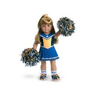 American Girl Navy/Gold Cheerleader   DOLL IS NOT INCLUDED Toys & Games
