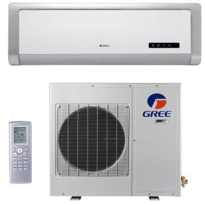 GREE High Efficiency 24,000 BTU Ductless Mini Split Air Conditioner with Heat   208/230V/60Hz DISCONTINUED GWH24ACD3DNA1R