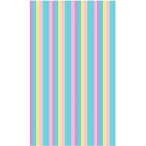 LA Rug Inc. Fun Time Pastel Delicate Multi Colored 39 in. x 58 in. Area Rug FT 109 3958