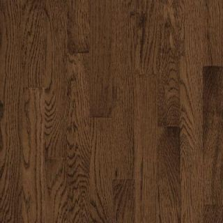 Bruce Natural Reflections Oak Walnut Solid Hardwood Flooring   5 in. x 7 in. Take Home Sample BR 667235