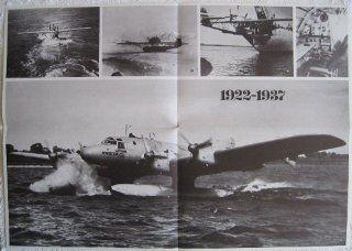 Blohm & Voss Ha 139 / Dornier Do 18 / Dornier Wal   Flugzeug Poster   Großformat ca. 41 x 58 cm: Küche & Haushalt