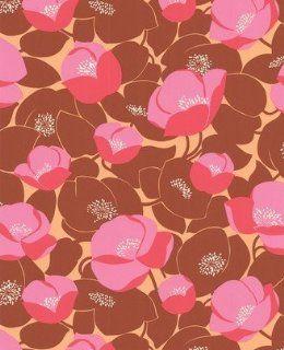 Graham & Brown Retro Tapete 50er / 60er Jahre 50 140   Field Poppies by Amy Butler Baumarkt