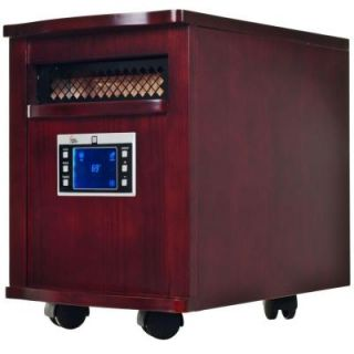 Warm House 1500 Watt 18 in. Infrared Radiant Electric Portable Heater with Digital Readout 80 5531