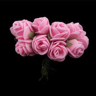 BestOfferBuy 144 Schaumstoff Blume Rose DIY Scrapbook Braut Hochzeit rosa 20mm: Bürobedarf & Schreibwaren