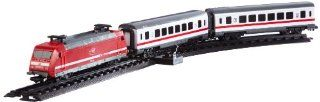 Dickie 3563900 City Train, Lok mit 2 Personenwagen für H0, Maßstab 1:87: Spielzeug