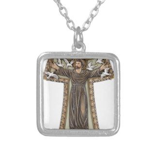 St. Francis in Tau Cross Jewelry