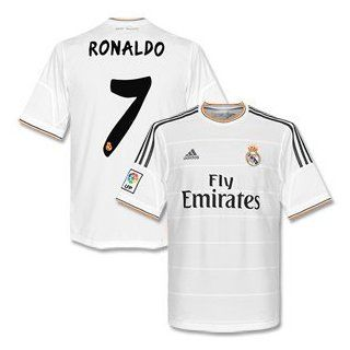 Real Madrid Boys Home Trikot 2013 2014 + Ronaldo 7 176cm: Sport & Freizeit