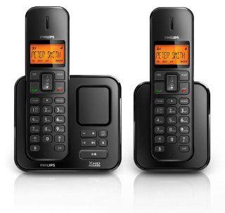 Philips SE 175 DUO   schnurloses Telefon mit Anrufbeantworter, beleuchtetes Display, inkl. Zusatzh�rer mit Ladeschale, CLIP Funktion Elektronik