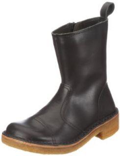 Swedish Hasbeens danish boot 178, Unisex   Erwachsene Stiefel, Schwarz (black/nature), EU 37: Schuhe & Handtaschen