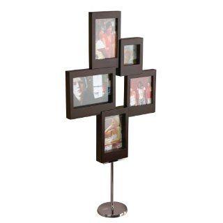 Umbra 312052 215 Sculpic Bilderrahmen stehend für 5 Fotos espresso: Küche & Haushalt