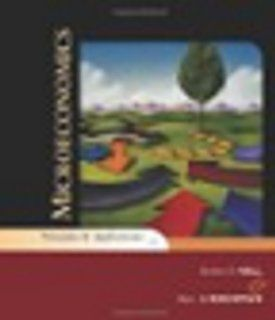 Study Guide for Hall/Lieberman's Microeconomics: Principles and Applications, 4th (9780324421545): Robert E. Hall, Marc Lieberman: Books