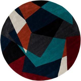 Artistic Weavers Estrella Teal 8 ft. Round Area Rug Estrella 8RD