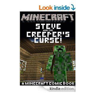 MINECRAFT COMIC: Steve and the Creeper's Curse! (A funny Minecraft comic book!) eBook: Just Steve's Minecraft Comics: Kindle Store