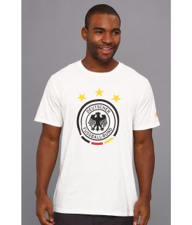adidas Futbol Crest   Germany Mens T Shirt (White)