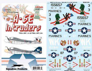 Superscale USA A 6E Intruder USMC Decals Toys & Games
