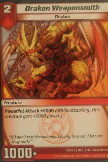 """Kaijudo """"Rise of the Duel Masters""""   Loose Single Card   #109/165   """"Drakon Weaponsmith""""   Common"""