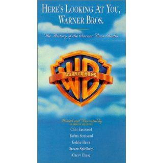 Here's Looking At You, Warner Bros. [VHS] Humphrey Bogart, Marlon Brando, James Cagney, Chevy Chase, Bette Davis, Clint Eastwood, Clark Gable, Goldie Hawn, Audrey Hepburn, Ruby Keeler, George Lucas, Paul Newman, Steven Spielberg, Philip Hurn, Robert G