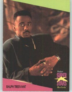 1991 Pro Set Superstars MusicCards U.K. Edition # 138 Ralph Tresvant (Collectible Pop Music / Rock Star Trading Card): Toys & Games