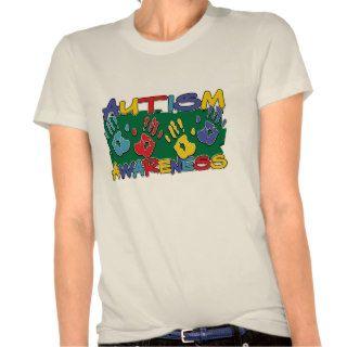 Autism Awareness Handprints T Shirts