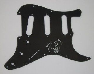 Flea Red Hot Chili Peppers By the Way Signed Autographed Fender Stratocaster Guitar Pickguard Entertainment Collectibles