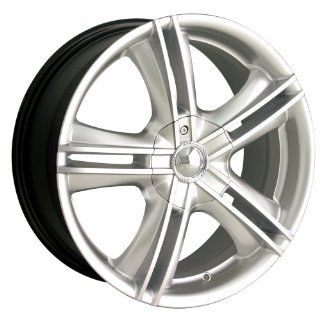 "Ion Alloy 161 Hypersilver Wheel with Machined Face (15x7""): Automotive"