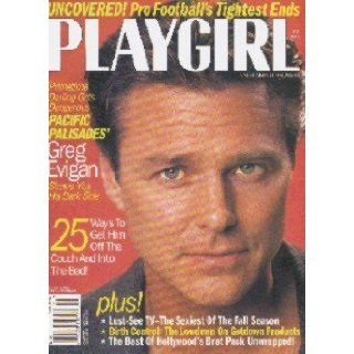 Playgirl Magazine October 1997 Greg Evigan; Pro Footballs' Tightest Ends: Books