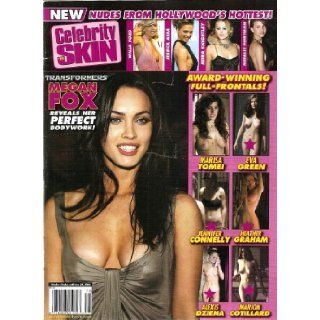 Celebrity Skin Magazine #178 Jessica Alba, Megan Fox: HIGH SOCIETY: Books