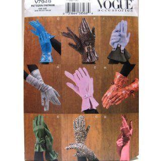 Vogue Sewing Pattern V7949 for Making Ladies' Gloves Vogue Books