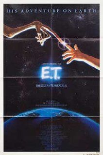 E.T. the Extra Terrestrial 1982 Original USA One Sheet Movie Poster Steven Spielberg Drew Barrymore: Drew Barrymore, Dee Wallace, Henry Thomas, Peter Coyote: Entertainment Collectibles