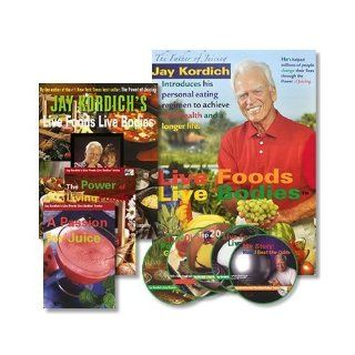The Live Foods Live Bodies Program (242 page Book, 2 DVDs, 5 CDs Multimedia package) (242 page Book, 2 DVDs, 5 CDs Multimedia package) Jay Kordich 9780974921211 Books