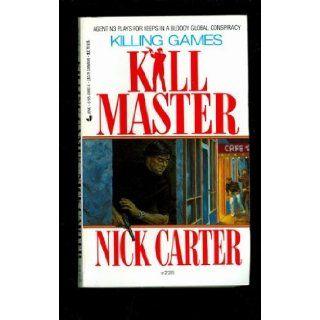 Killmaster #228/ Killing Games Nick Carter 9780515091120 Books
