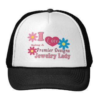 I Love Being A Premier Designs Jewelry Lady Series Mesh Hat