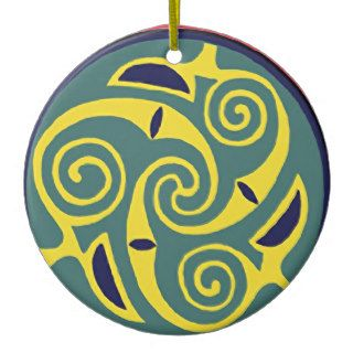 Ancient Celtic Symbols Swirling Ornaments