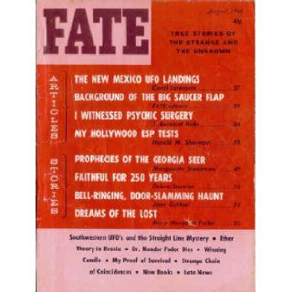 Fate Magazine, August 1964: New Mexico UFO Landings (Volume 17, No. 8): Mary Margaret Fuller: 9780276564086: Books