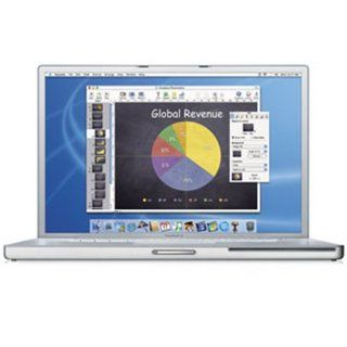 "Apple PowerBook Laptop 17"" M9110LL/A (1.33 GHz PowerPC G4, 512 MB RAM, 80 GB Hard Drive, DVD R/CD RW Drive)  Laptop Computers  Computers & Accessories"