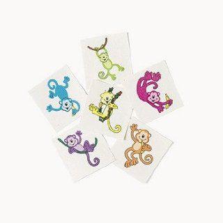 Neon Monkey Tattoos   36 per unit Toys & Games