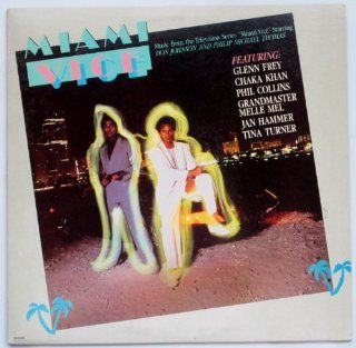 Music from Miami Vice (1985) [Vinyl LP Record] Music