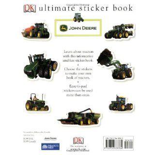 Ultimate Sticker Book John Deere Tractors (Ultimate Sticker Books) DK Publishing, Parachute Press 9780756638764 Books