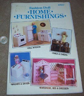 Fashion Doll Home Furnishings (from Plastic Canvas)   87D17: Designs by Various Designers: Books