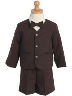 Eton Suit   Brown   Jacket, Shorts, Shirt, Tie   Made in USA Clothing